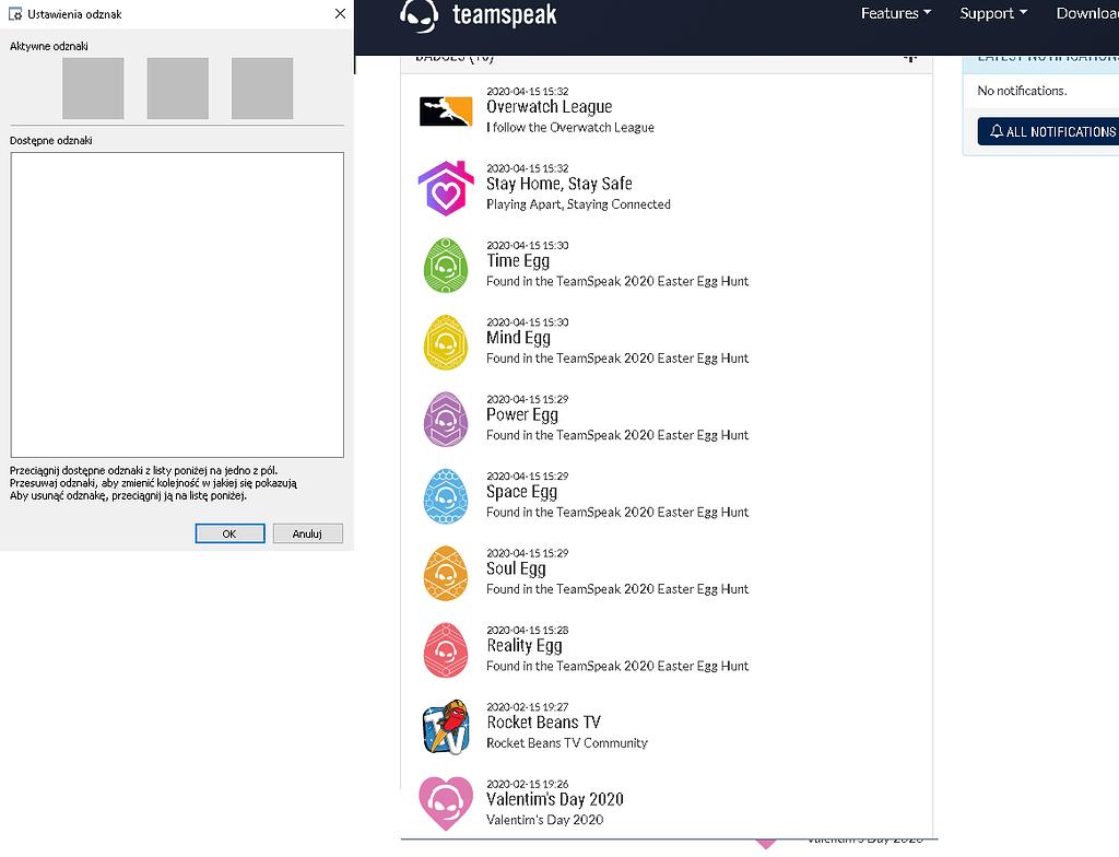 Badges don't work   TeamSpeak 15 Client   TeamSpeak