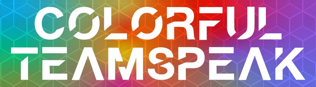 Colorful TeamSpeak Theme